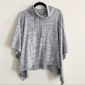 Athleta Blissful Poncho Pullover Layering Sweater